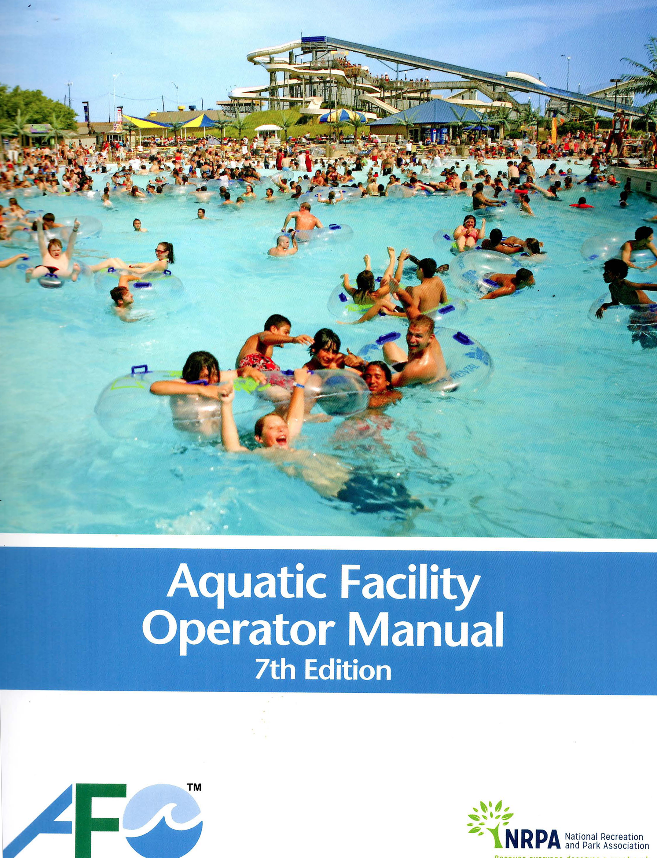 John C. Whitmore AFO 7th Edition, Aquatic Facility Operator Manual Cover